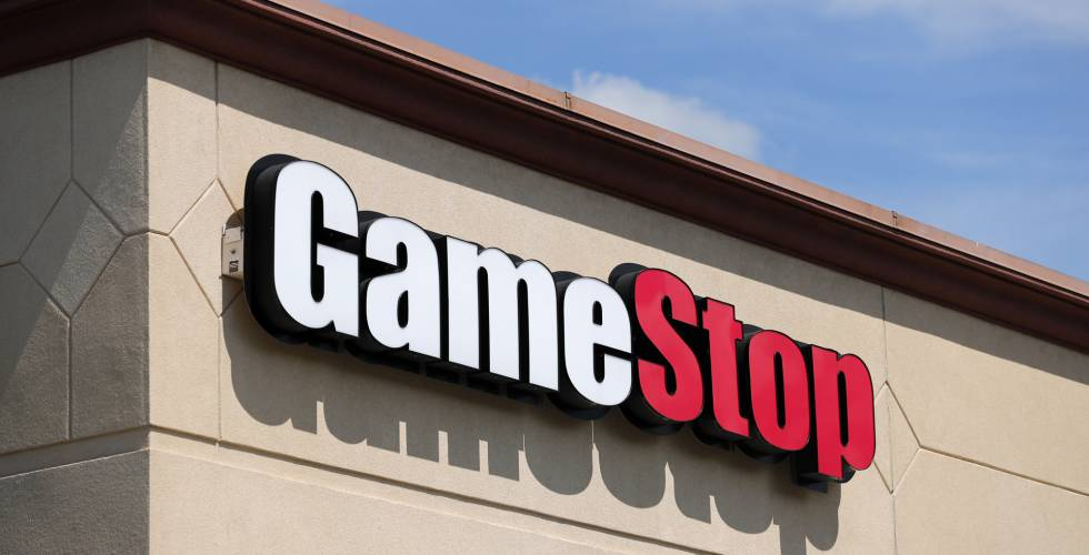 GameStop shares jump after CEO steps down image